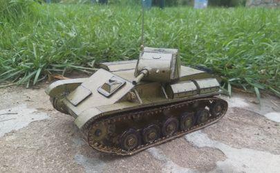 Radziecki lekki czołg T70