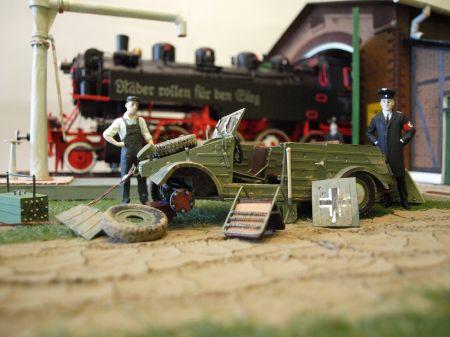 Diorama kolejowa