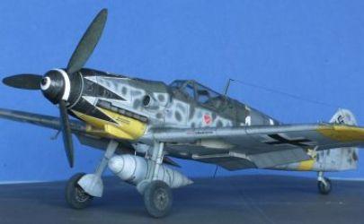 Messerschmitt Me 109G-6  samolot myśliwski IIWŚ