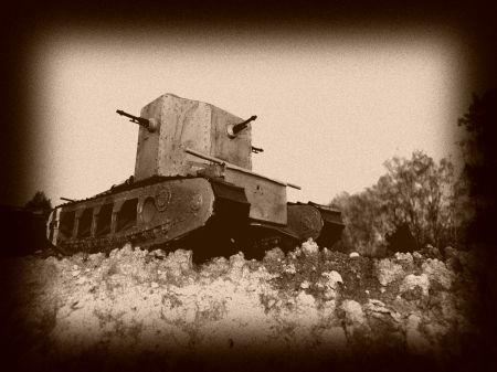 Brytyjski czołg  Mark A  (Whippet)