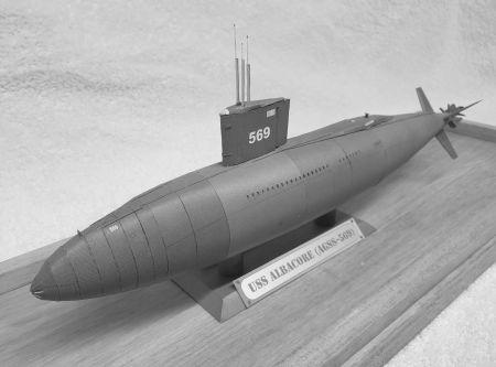 USS Albacore 1/200