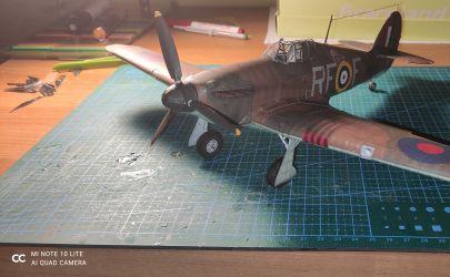 Kartonowa Kolekcja 35- Hawker Hurricane Mk I 1:33