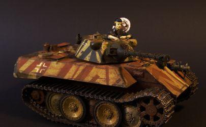 Berlin 1946 - VK 1602 Leopard / Orlik