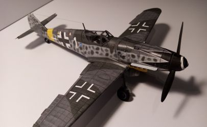 Messerschmitt Me 109G-6 Kartonowa Kolekcja