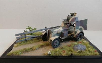 Samochód pancerny WZ. 34 -1:25 KK