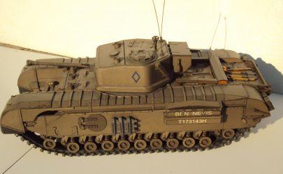 Churchill Mk VII - Fly Model