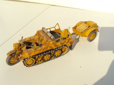 SdKfz 2 NSU Kettenkrad - Modelik 4/04