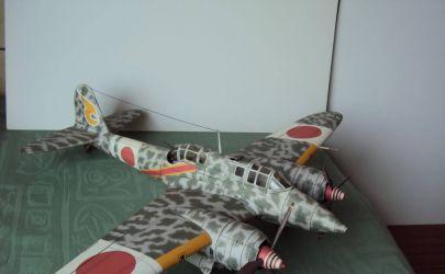 Kawasaki Ki-45 Toryu - Fly model 40
