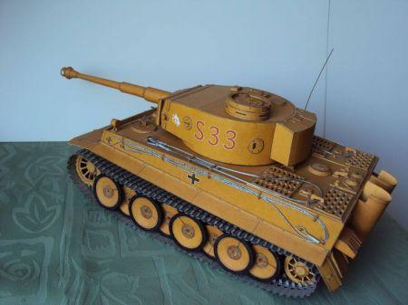 PzKpfw VI Ausf.H1 Tiger - Mały Modelarz 4-5/98