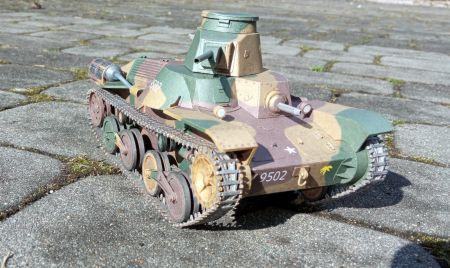 Japoński czołg lekki Ha-Go (typ 95)