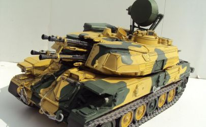 ZSU-23-4M Shilka - Fly model 135