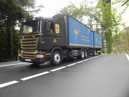 Scania R620 + przyczepa