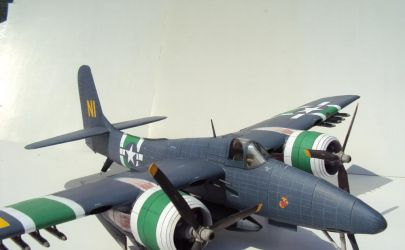 Grumman F7F Tigercat FLY MODEL 2