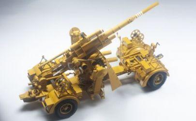 Niemiecka armata plot Flak 36/37 88mm (Fliegerabwehrkanone)