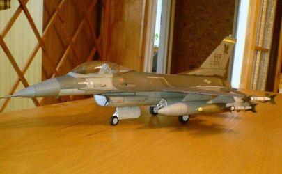 Amerykański samolot myśliwski F-16 C