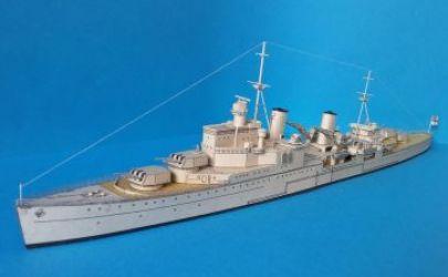 HMS Sheffield wydanie I (1991r),   JSC, skala 1:400