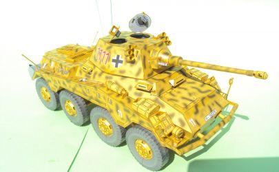 Sd.Kfz 234/2 Puma - Modelik 3/03