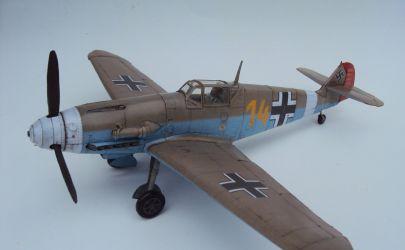 Messerschmitt Bf 109 F-4 - Kartonowy Arsenał 4/2005
