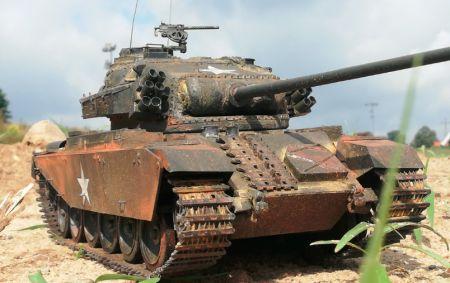 CENTURION  MK 1  Wojna w KOREI