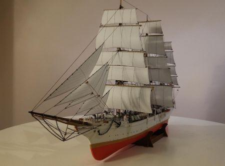 Dar Pomorza , Mały Modelarz 2002r, skala 1:200