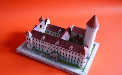 RAVEN6 i model za (czeskie) grosze czyli Zamek Konposte, wydawnictwo BETEXA, skala 1:250.