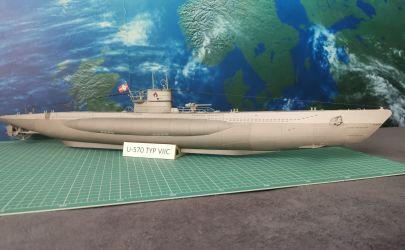 NIEMIECKI OKRĘT PODWODNY U-570