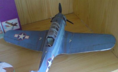 Model SDB-3 Dauntles - Kartonowki.pl