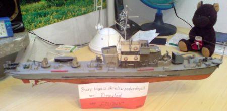 Duży ścigacz okretów podwodnych typu Kronsztad DS-41 ORP