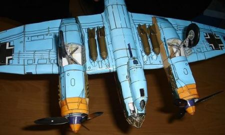 Samolot bombowy Junkers Ju 88 A-4