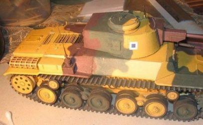 Japoński czołg Chi-he