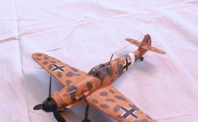 Messerschmitt Me 109G-2/trop