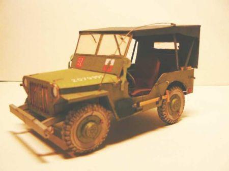 Willys Jeep 3 Batalion Strzelców Karpackich