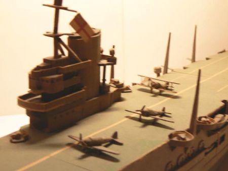 Lotniskowiec brytyjski Ark Royal