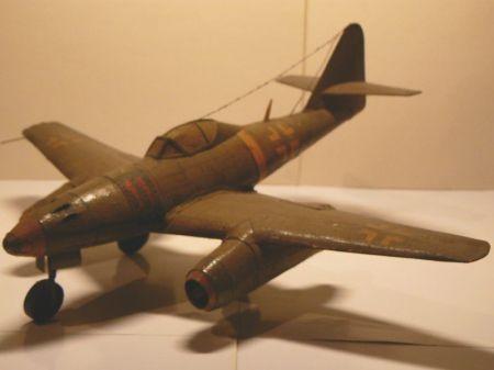Samolot myśliwski Me 262 Schwalbe
