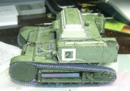 rosyjska tankietka T-27
