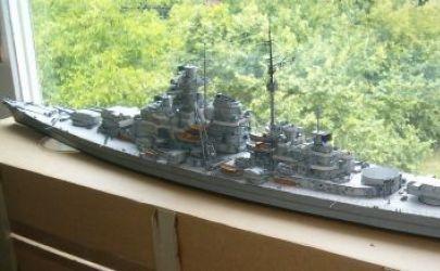 Bismarck/1940/ HMV Hamburg