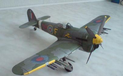 Samolot Myśliwski Hawker Typhoon