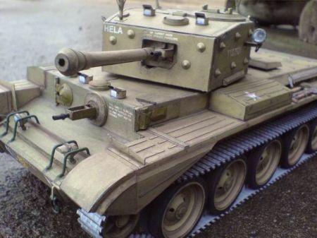 Brytyjski czołg szybki MK. VIII CROMWELL IV