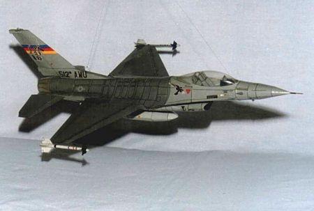 Samolot myśliwski F-16C Falcon