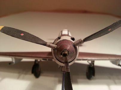 Aircobra z frontu