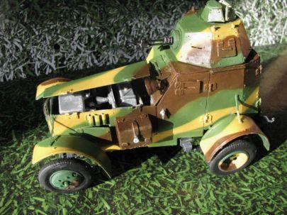 30.samochód pancerny wz.34 typ II