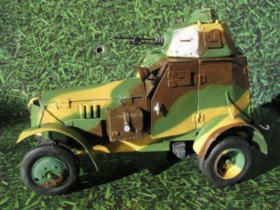 13.samochód pancerny wz.34 typ II