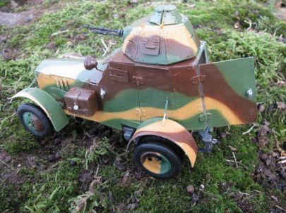 10.samochód pancerny wz.34 typ II