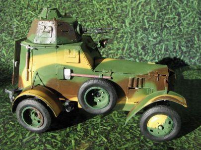 11.samochód pancerny wz.34 typ II