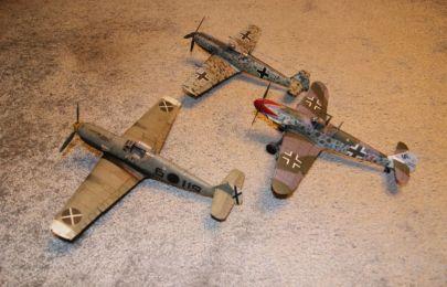 3 x Bf-109 znowu