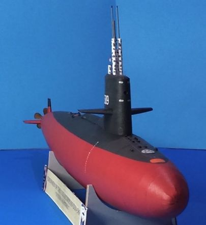 USS Scorpion od dzioba