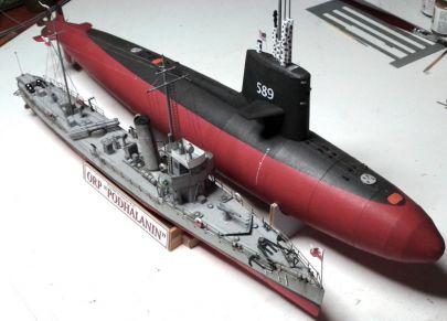 dla porównania USS Scorpion