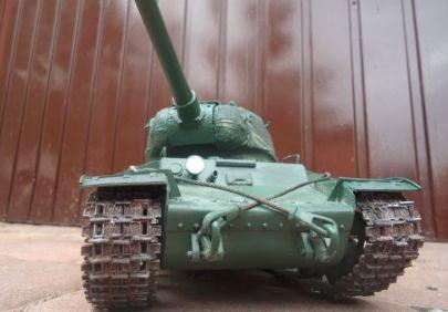 Ale mając ten czołg pokaże faszystom co znaczy Sowiecki duch bojowy.