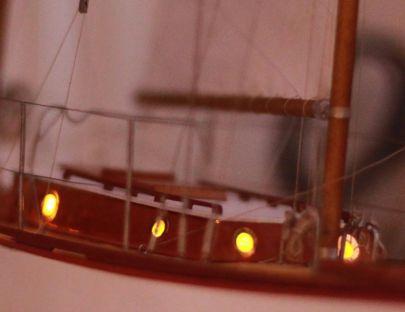 podświetlona kabina
