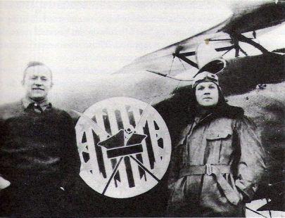 Amerykańscy ochotnicy, Merian C. Cooper i Cedric Fauntleroy, piloci 7 Eskadry Myśliwskiej (1920 ROK)